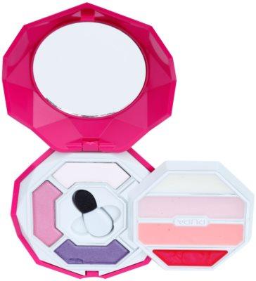 Pupa Snow Queen Crystal Diamond make-up paletta szemre és szájra