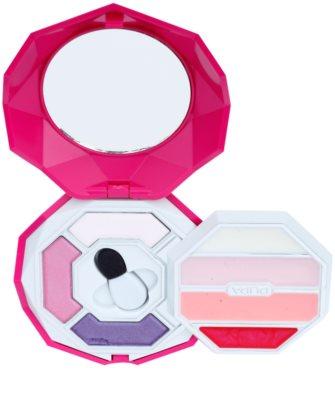 Pupa Snow Queen Crystal Diamond Palette mit Make up für Augen und Lippen