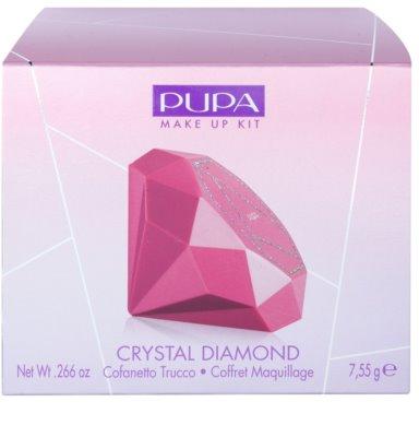 Pupa Snow Queen Crystal Diamond paleta za ličenje oči in ustnic 2