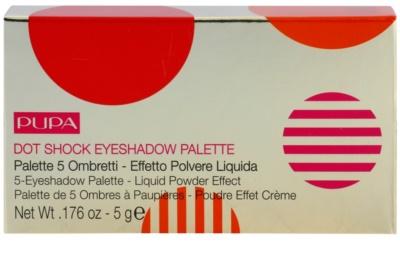 Pupa Dot Shock szemhéjfesték paletták 1