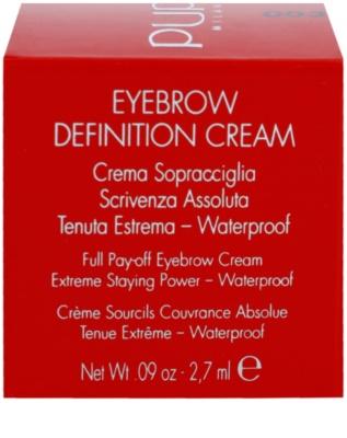 Pupa Eyebrow Definition Cream szemöldök pomádé 2