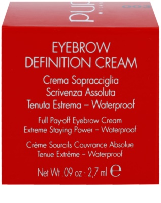 Pupa Eyebrow Definition Cream pomada para cejas 2