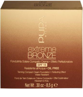 Pupa Extreme Bronze polvos compactos con efecto bronceado SPF 15 3
