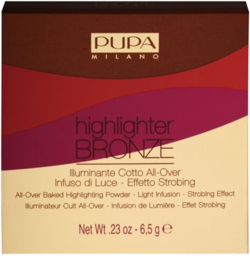 Pupa Highlighter Bronze Highlighter  für das Gesicht 2