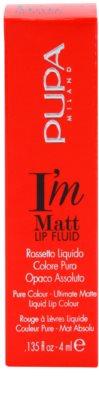 Pupa I'm Matt tekutá rtěnka 3