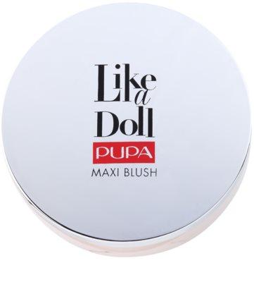 Pupa Like a Doll Maxi Blush kompaktní tvářenka se štětcem a zrcátkem 3