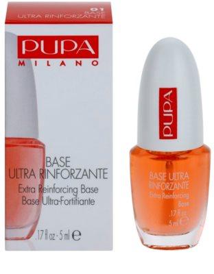 Pupa Nails lac intaritor de baza pentru unghii cu efect de întărire 1