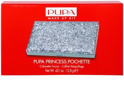 Pupa Princess Pochette paleta de cosméticos decorativos 2