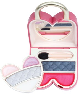 Pupa Princess Pretty Lock conjunto de maquilhagem para olhos e lábios