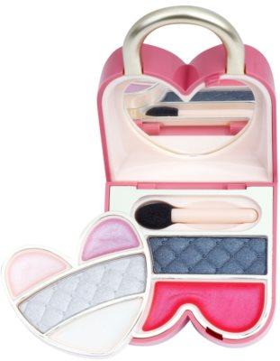 Pupa Princess Pretty Lock Palette mit Make up für Augen und Lippen