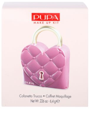 Pupa Princess Pretty Lock make-up paletta szemre és szájra 2