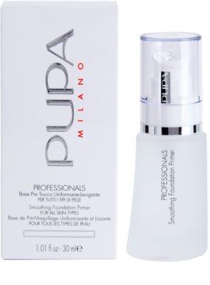 Pupa Professionals основа для макіяжу для всіх типів шкіри 2