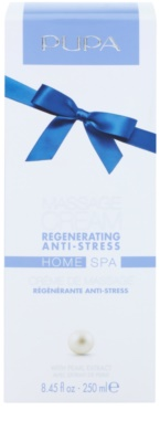 Pupa Home SPA Regenerating Anti-Stress regenerierende Massagecreme gegen Stress 1