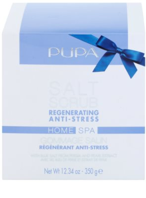 Pupa Home SPA Regenerating Anti-Stress regenerierendes Peeling-Salz gegen Stress 1