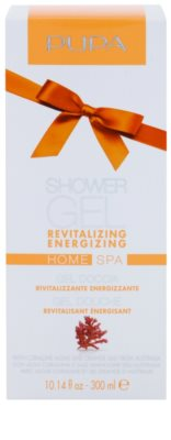 Pupa Home SPA Revitalizing Energizing gel de dus revitalizant 1