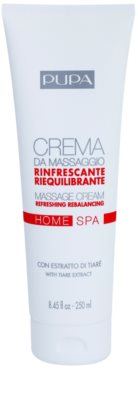 Pupa Home SPA Refreshing creme de massagem