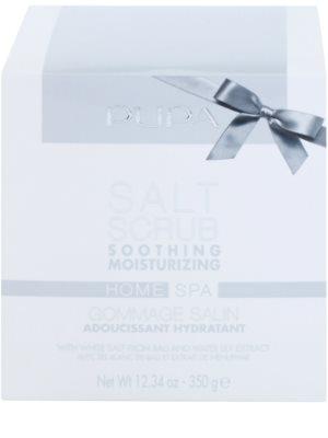 Pupa Home SPA Soothing Moisturizing uklidňující peelingová sůl s hydratačním účinkem 1