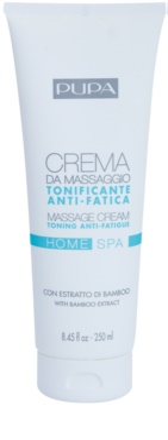 Pupa Home SPA Tonin Anti-Fatigue crema de masaje antifatiga