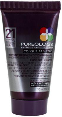 Pureology Colour Fanatic mélyen tisztító maszk festett hajra