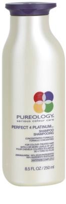 Pureology Perfect 4 Platinum шампоан  за блонд коса и коса с кичури
