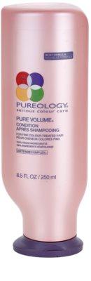 Pureology Pure Volume odżywka nadająca objętość do delikatnych włosów farbowanych