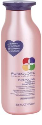 Pureology Pure Volume sampon a dús hajért a vékony szálú, festett hajra