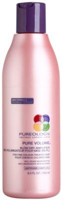 Pureology Pure Volume dúsító styling krém a vékony szálú, festett hajra
