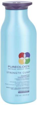 Pureology Strength Cure erősítő sampon a sérült és festett hajra