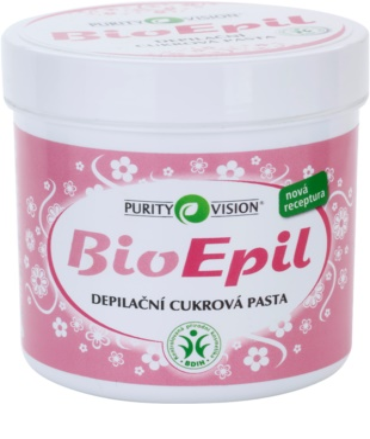 Purity Vision BioEpil sladkorna pasta za depilacijo