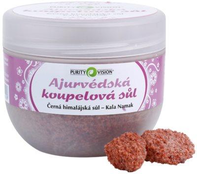 Purity Vision Kala Namak ajurvédska soľ do kúpeľa 2