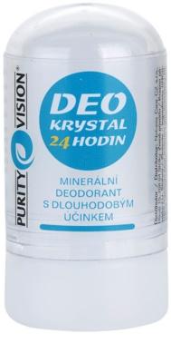 Purity Vision Krystal deodorant mineral