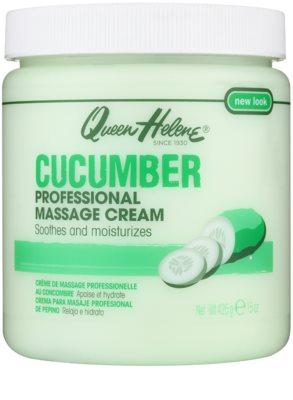 Queen Helene Cucumber creme de massagem para rosto e corpo
