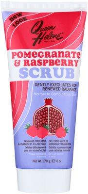 Queen Helene Pomegranate & Raspberry peeling do cery normalnej i mieszanej