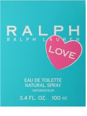 Ralph Lauren Love Eau de Toilette für Damen 4