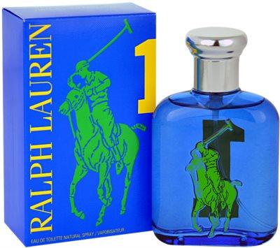 Ralph Lauren The Big Pony 1 Blue Eau de Toilette für Herren