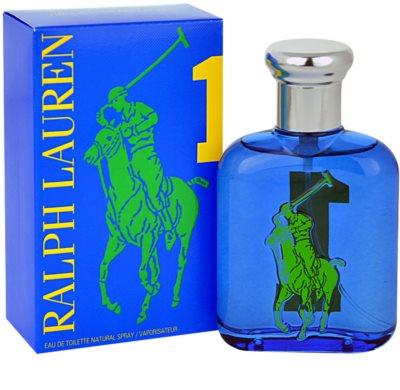 Ralph Lauren The Big Pony 1 Blue Eau de Toilette para homens