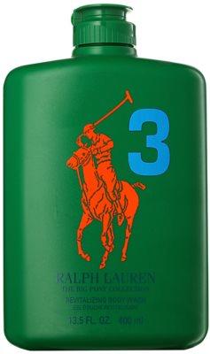 Ralph Lauren The Big Pony 3 Green sprchový gel pro muže