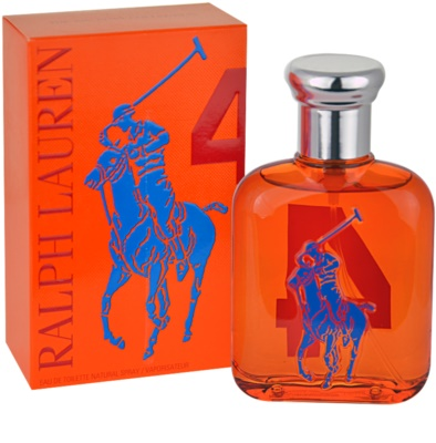 Ralph Lauren The Big Pony 4 Orange Eau de Toilette pentru barbati