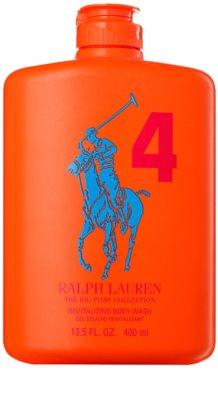 Ralph Lauren The Big Pony 4 Orange gel de duche para homens