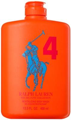 Ralph Lauren The Big Pony 4 Orange gel za prhanje za moške