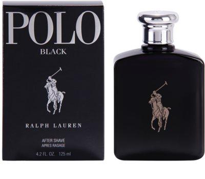 Ralph Lauren Polo Black loción after shave para hombre