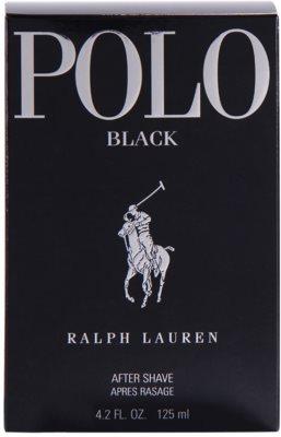 Ralph Lauren Polo Black loción after shave para hombre 3
