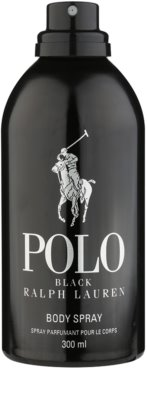 Ralph Lauren Polo Black spray de corpo para homens 1