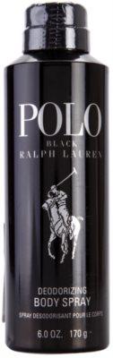 Ralph Lauren Polo Black deodorant Spray para homens