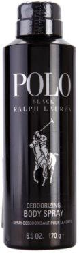 Ralph Lauren Polo Black dezodorant w sprayu dla mężczyzn