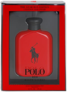 Ralph Lauren Polo Red The Gear Box Edition Eau de Toilette für Herren