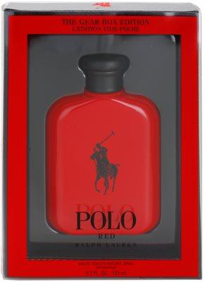Ralph Lauren Polo Red The Gear Box Edition toaletní voda pro muže