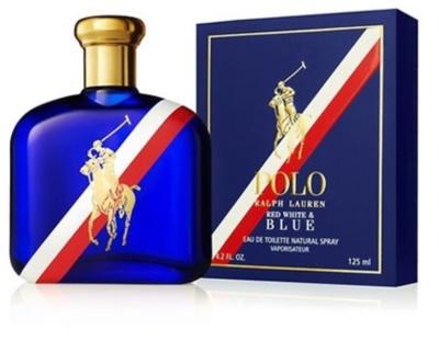 Ralph Lauren Polo Red White & Blue Eau de Toilette para homens