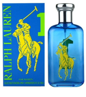 Ralph Lauren The Big Pony Woman 1 Blue Eau de Toilette para mulheres