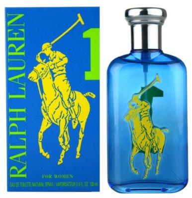 Ralph Lauren The Big Pony Woman 1 Blue Eau de Toilette pentru femei